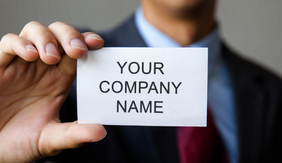 Company Registered name gives identity to your business